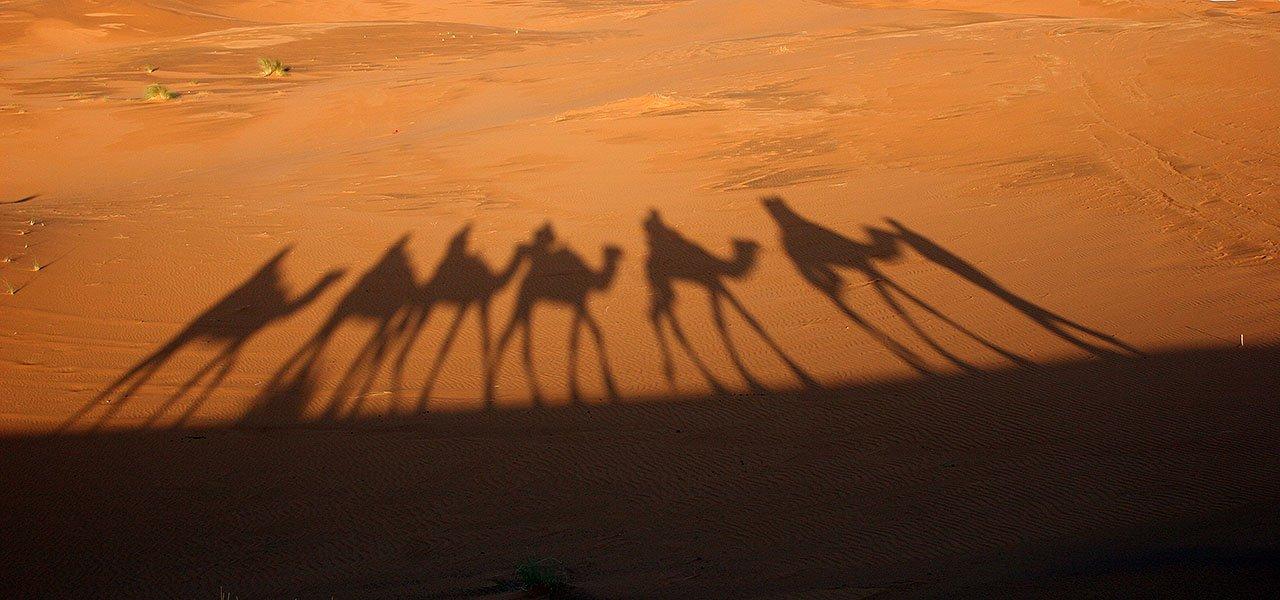 摩洛哥撒哈拉沙漠的奇幻旅程